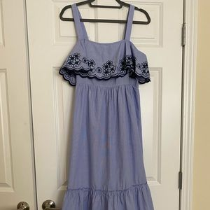NWT Kate Spade Daisy Embroidered Patio Dress